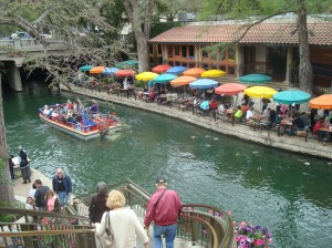 River walk birdseye